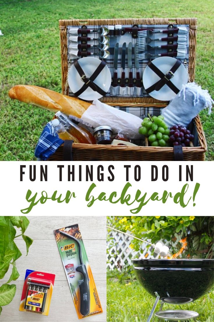 Fun Things To Do In Your Backyard this Summer