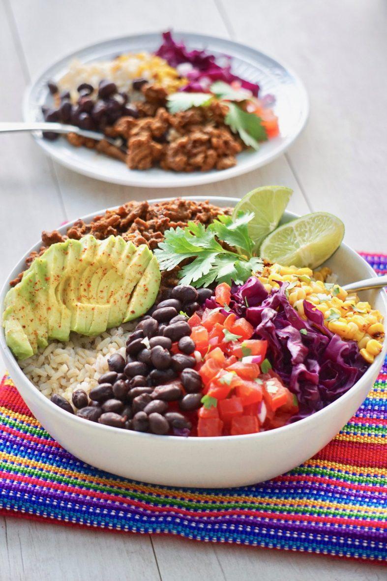 Easy taco bowl recipe