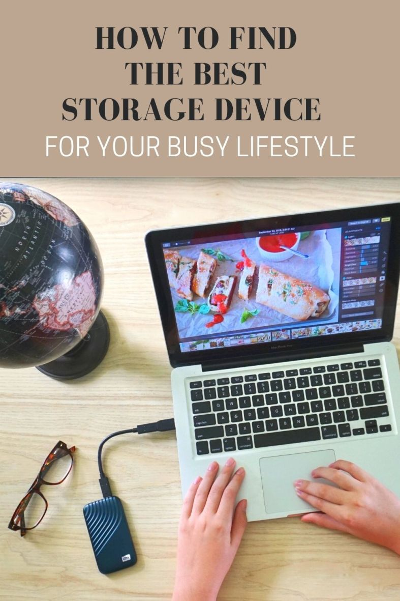 Best storage device for a busy lifestyle