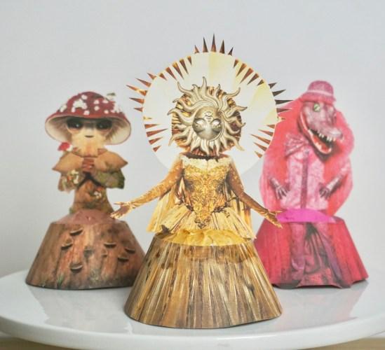 Masked Singer cupcakes free printables