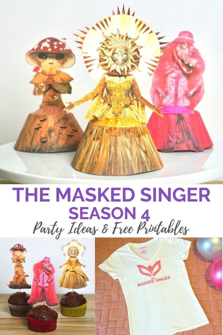 The Masked Singer season 4 party ideas and free printables