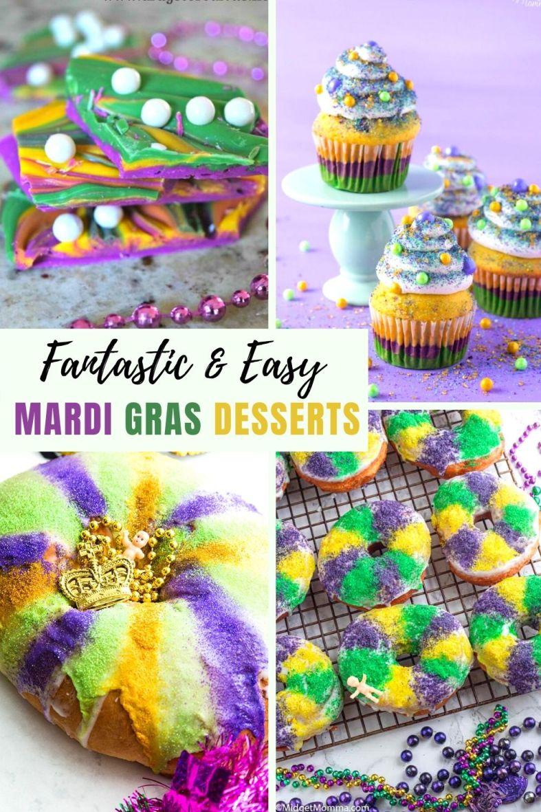 Fantastic and Easy Mardi Gras Desserts