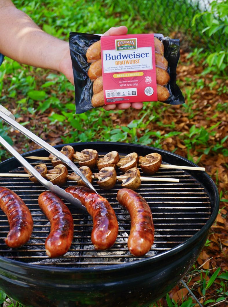 perfect pairings for BBQ brats