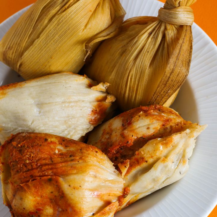 Guatemalan tamales chuchitos