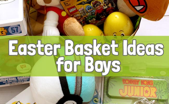 Easter Basket Ideas For Boys Gublife