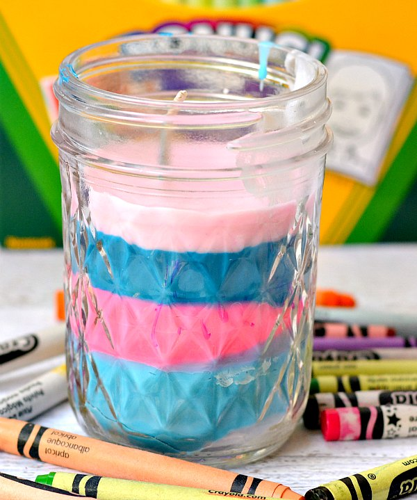 Layered Candle