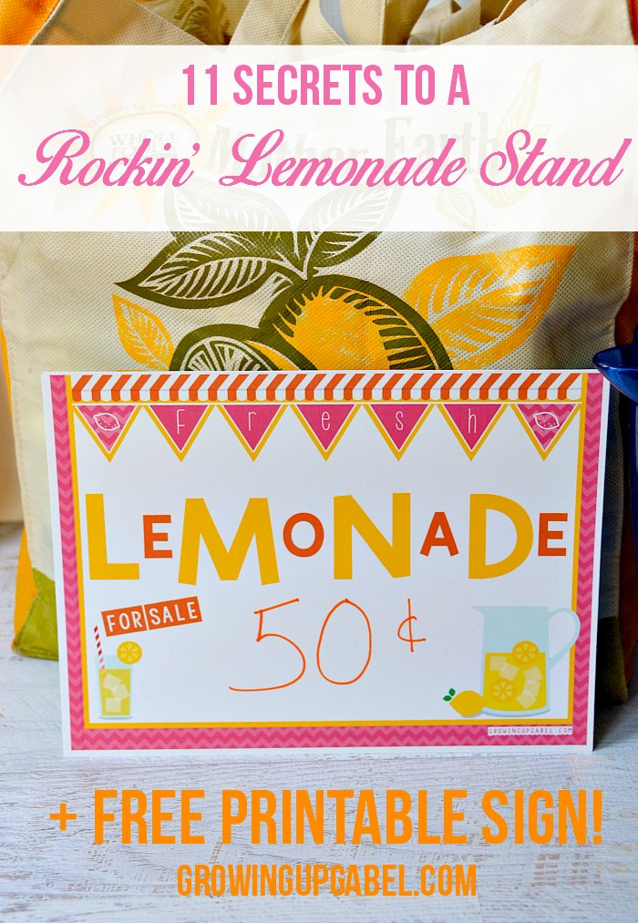 child sized chairs outdoor glass table and 11 secrets to a rockin' lemonade stand for kids + free printables
