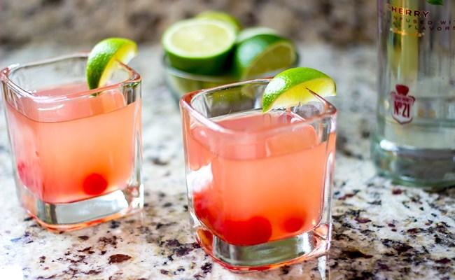 Cherry Limeade Vodka Cocktail Recipe