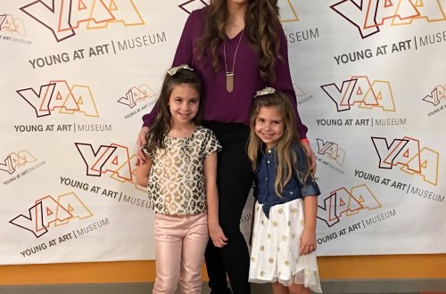 growing up glad, young at art museum, recycled fashion show, fashion show, mom blog, mommy blog, fashion blog, parenting blog, girl power, inspiration, motivation, 2015