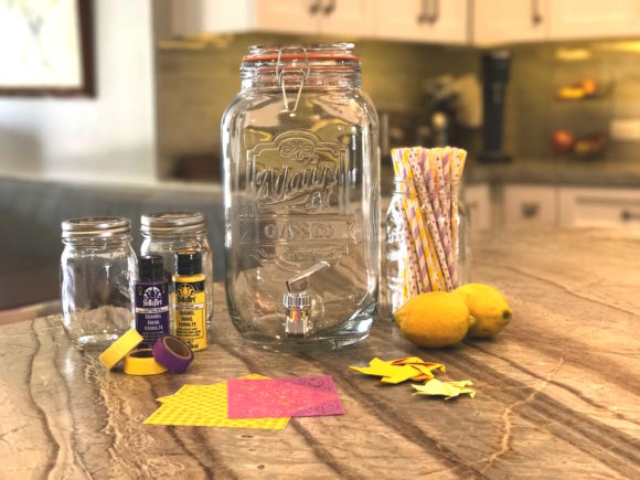 Disney's Tangled: The Series DIY Craft Lemonade Glasses