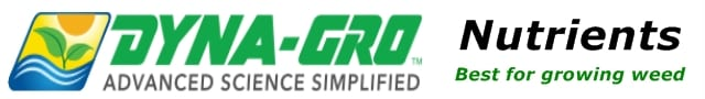 Dyna-GRO Nutrients are perfect for growing cannabis