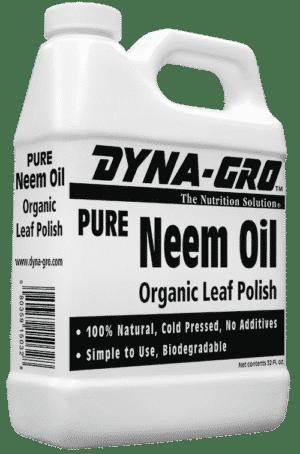 Dyna-Gro Neem Oil kills pests