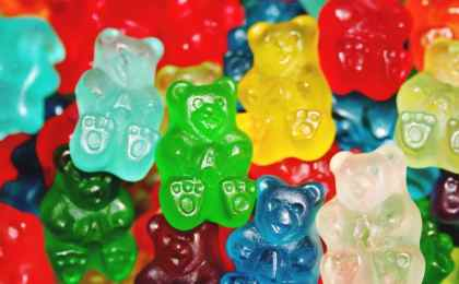 Gummy bears with THC