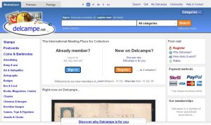 Alternatives to eBay- Delcampe