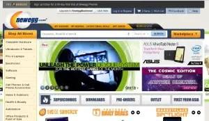 Alternatives to eBay- Newegg