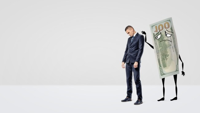 confidence with money can often be low due to a negative relationship with money