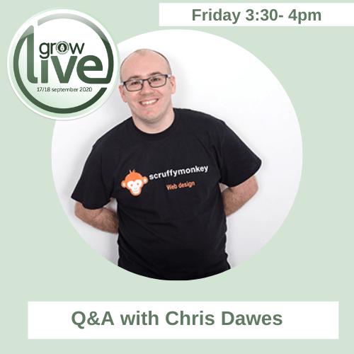 GROW Live 2020 with Chris Dawes