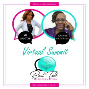 Featured Speaker at Real Talk Business Mastery Summit