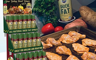 After just three years, Duck Fat spray is sold in 48 states