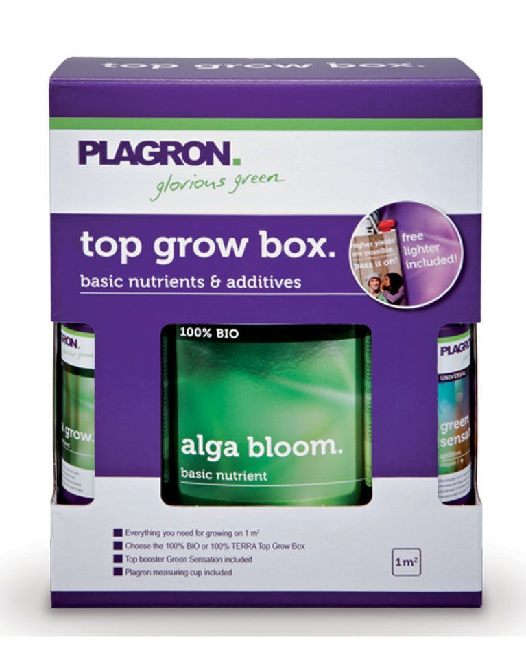TOP GROW BOX 100 BIO PLAGRON  Grow Shop Low Cost