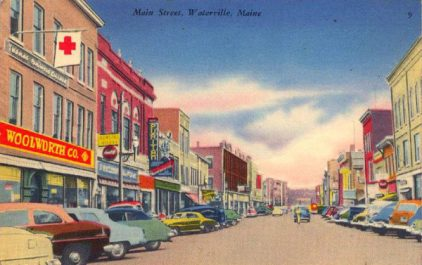 Historic Waterville Downtown
