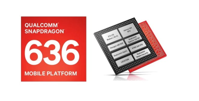 Snapdragon 636 Battery Efficient Mobile Processor 2018