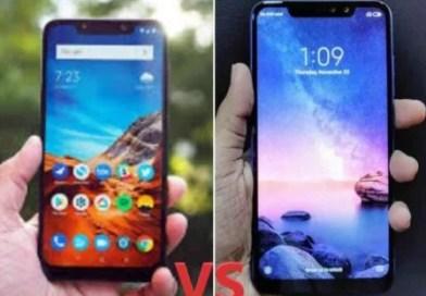 Comparison between Xiaomi Poco F1 vs Redmi Note 6 Pro