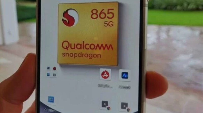 Flagship processor Snapdragon 865