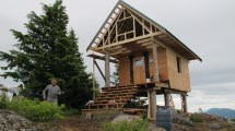Elevated Foundation Raised Cabin Growth & Serenity