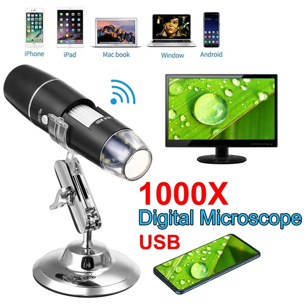 Picture of digital microscope