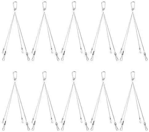 10 Pack Plant Grow Light Rope Hanger 0.98ft Per Pack Max