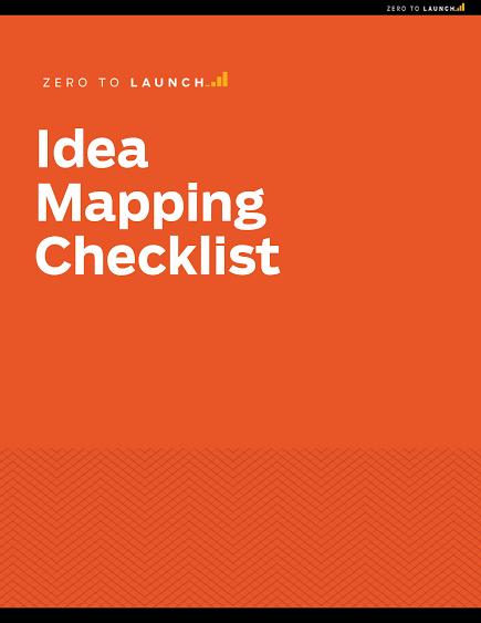 Scarica la Lista di controllo per la mappatura delle idee gratuita