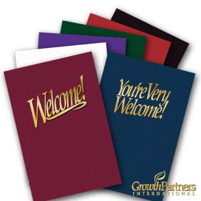 6x9 welcome folder colors
