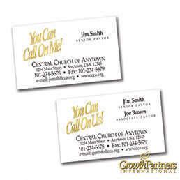 Church Calling Cards