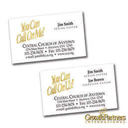 Church Calling Cards