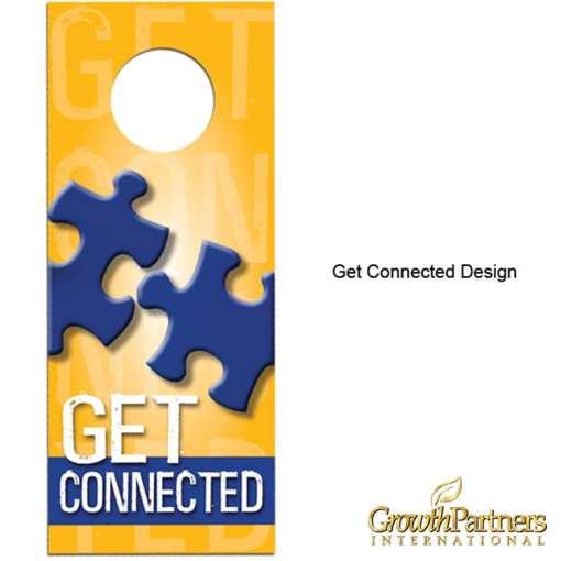 get connected door hanger