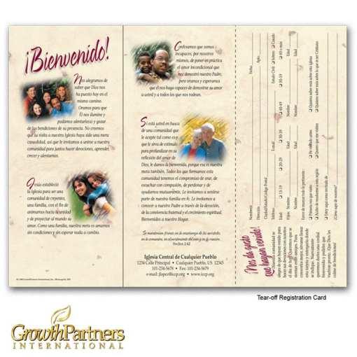 inside image of the spanish tri-fold brochure