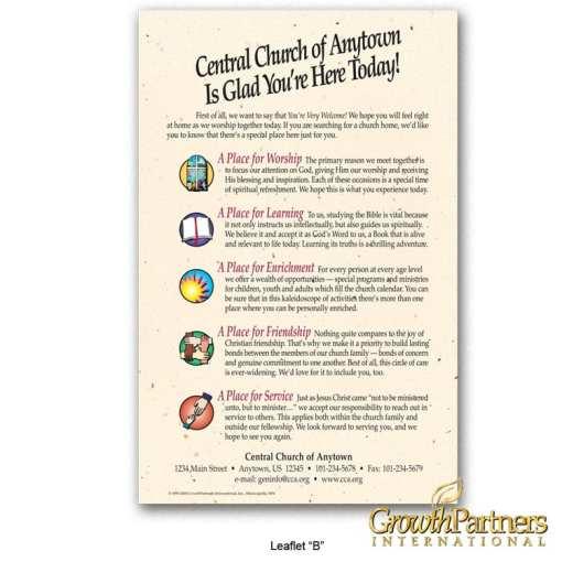 Church Leaflet B