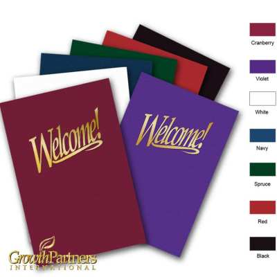 Welcome church folder colors