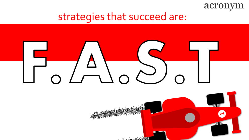 What is a FAST Strategy?