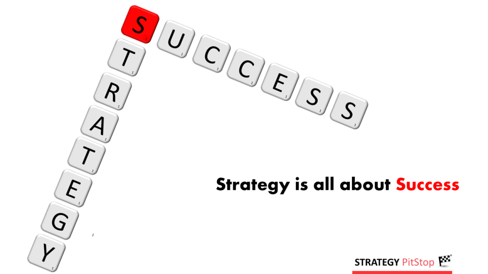 strategy is about success
