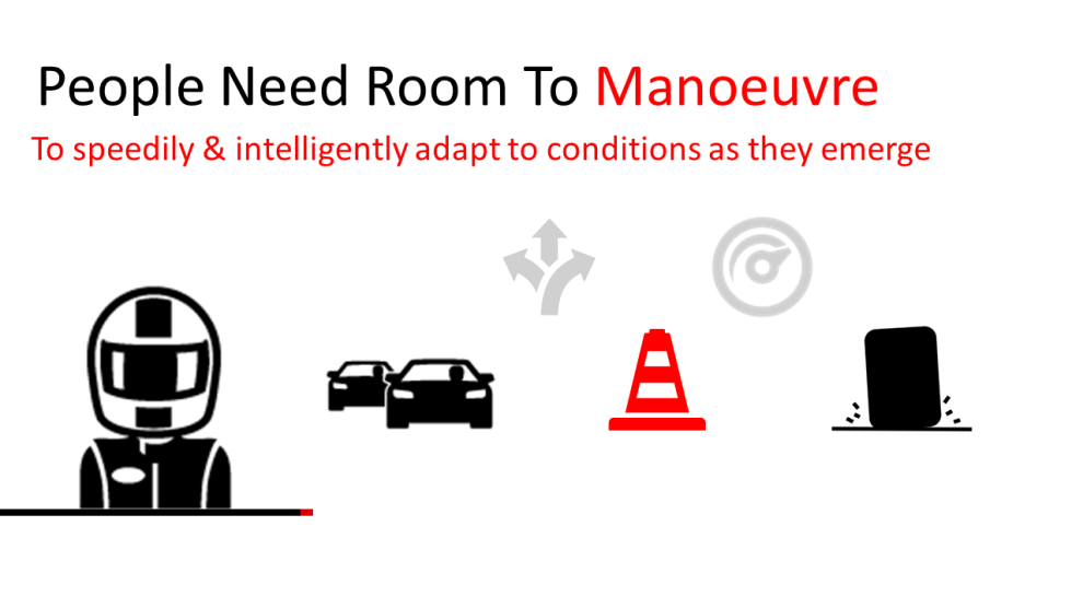 Room to manouever