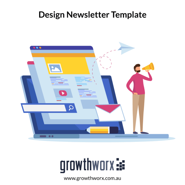 I will design editable, responsive mailchimp and html newsletter template 1