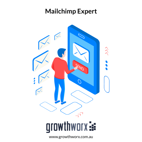 I will work as your mailchimp expert 1