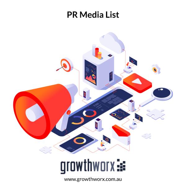 I will provide a high value PR media list to attract press 1