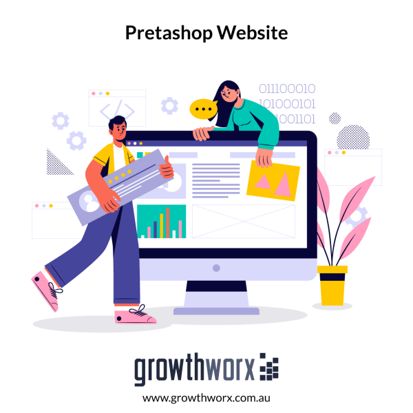 Create a 1 page Pretashop store using a free or pre-purchased theme 1