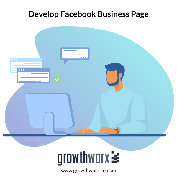 Develop a full Facebook business page including buttons, settings, business details, optimization, full design, slider and posts 1