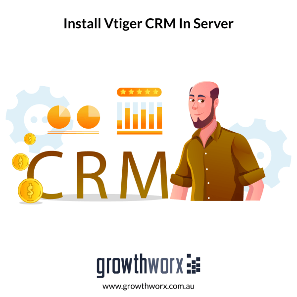Install Vtiger CRM in your server, configure your email servers and workflows 1