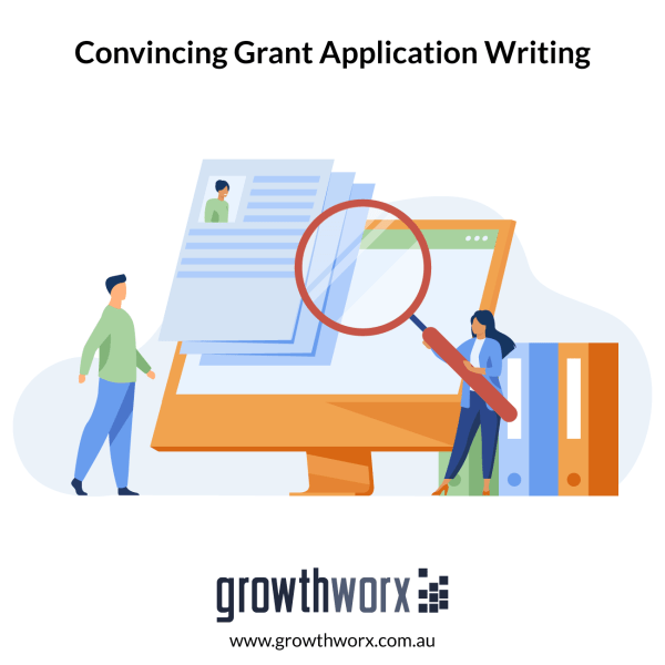 Write a convincing grant application or proposal 1