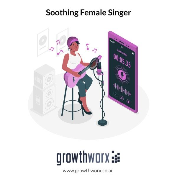 I will be your soothing female singer for your song 1
